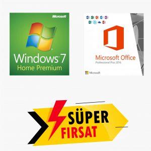 Windows 7 Home Lisans Anahtarı,Office 2016 Pro Plus Lisans Anahtarı