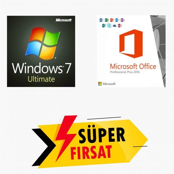 Windows 7 Ultimate Lisans Anahtarı,Office 2016 Pro Plus Lisans Anahtarı