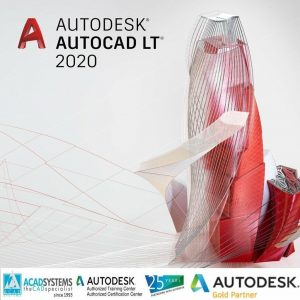 AUTOCAD LT 2020 COMM.SNGL.USR ELD (1 YIL)