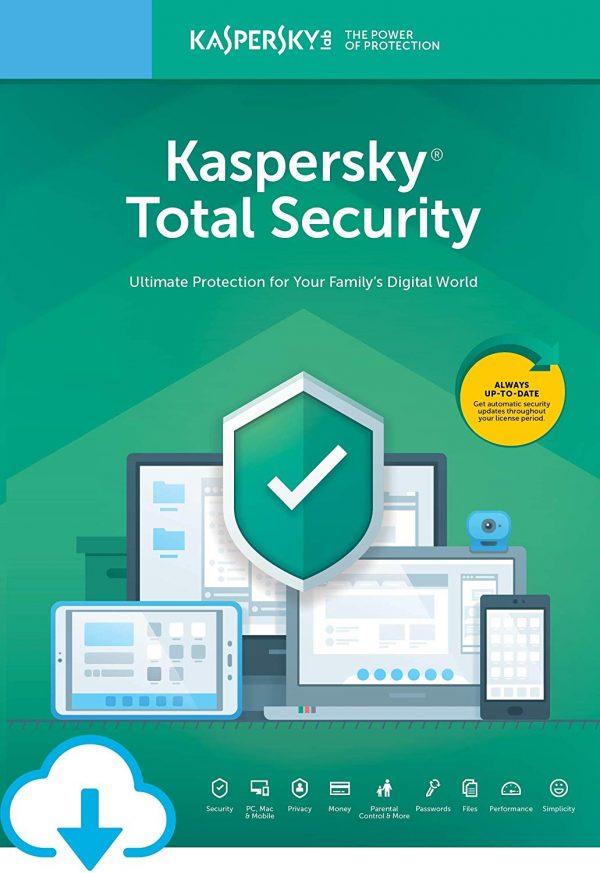 Kaspersky Total Security ürün görseli