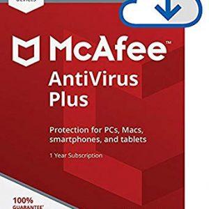 Mcafee Antivirüs Plus Ürün Görseli
