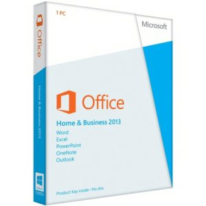 Microsoft Office 2013 Home and Business Kutulu Ürün