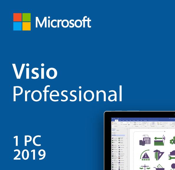 Microsoft Visio 2019 Lisans Anahtarı