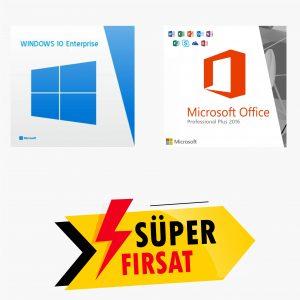 Windows 10 Enterprise Lisans Anahtarı ve Office 2016 Pro Plus Lisans Anahtarı