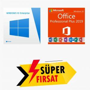 Windows 10 Enterprise Lisans Anahtarı ve Office 2019 Pro Plus Lisans Anahtarı