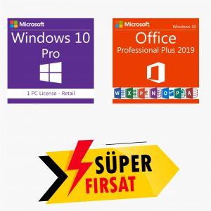 Windows 10 Pro Lisans Anahtarı ve Office 2019 Pro Plus Lisans Anahtarı