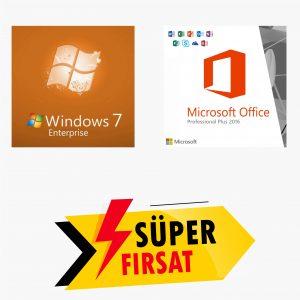 Windows 7 Enterprise Lisans Anahtarı ve Office 2016 Pro Plus Lisans Anahtarı