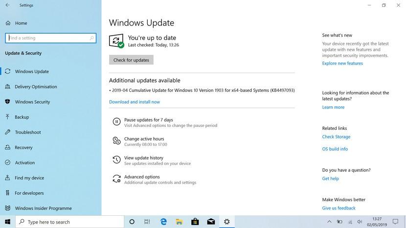 Windows 10 Pro Yeni Windows Güncellemesi