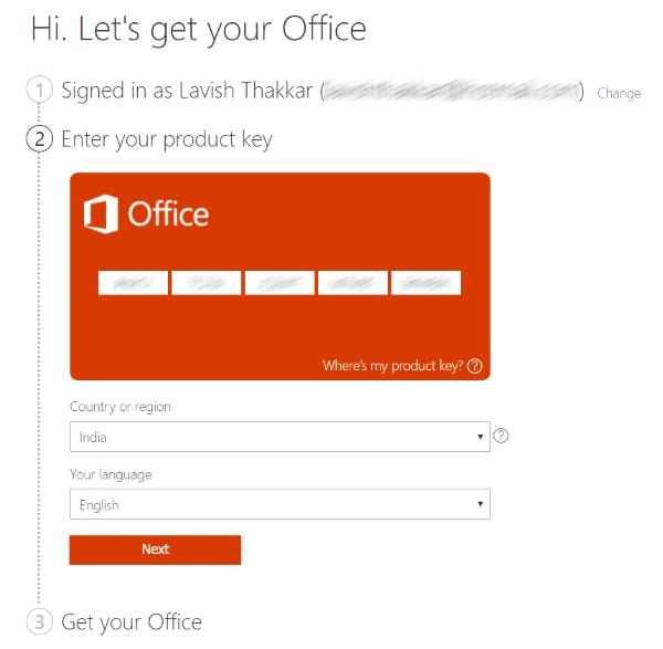 Office 2019 Pro Plus Ürün Anahtarı