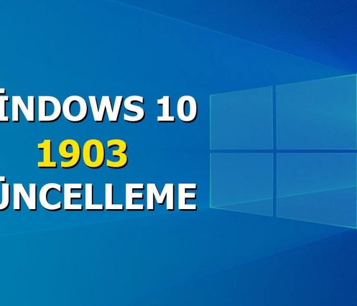 Windows 10 1903 Güncellemesi