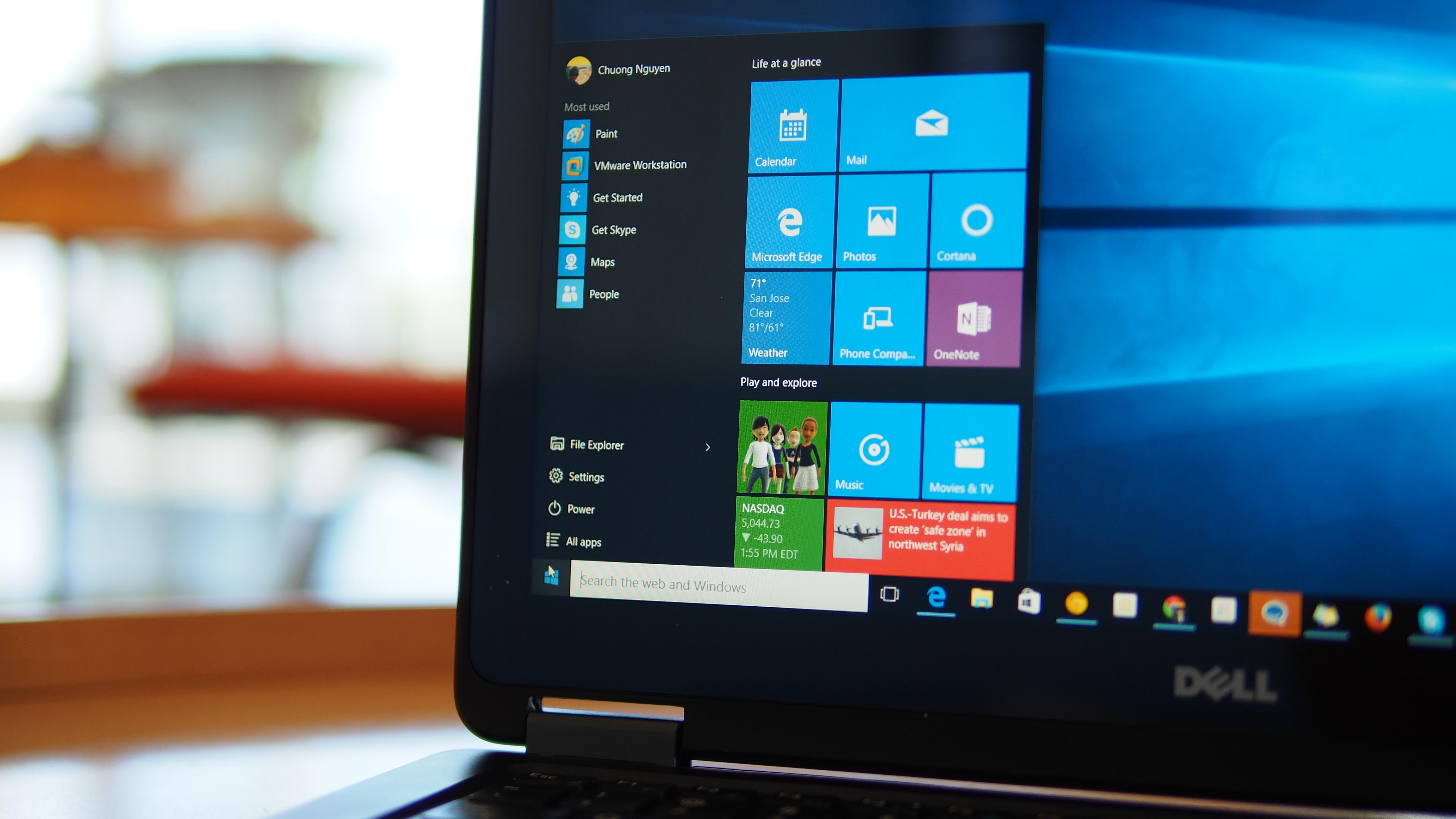 Windows 10 yüklü pc ve Windows 10 Pro lisanslı masaüstü